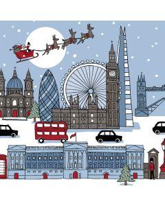Santa Over the Capital - Parkinson's UK London Charity Christmas Cards
