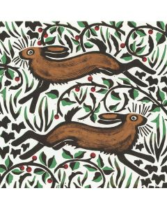 Hares and Holly - Cards For Good Causes Charity Christmas Cards