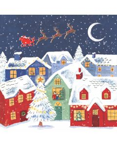 Over the Rooftops - Cards For Good Causes Charity Christmas Cards