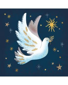 Starlit Dove - Cards For Good Causes Charity Christmas Cards