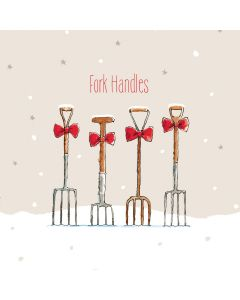 Fork Handles - Perennial Charity Christmas Cards