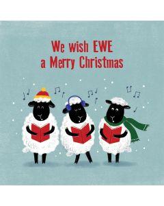 We Wish Ewe A Merry Christmas - Perennial Charity Christmas Cards