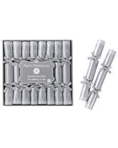 Party Porcelain Silver Saucer Crackers