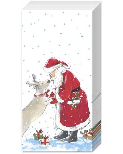 Pocket Tissues Santa's Best Friend - Charity Christmas Gifts & Decorations