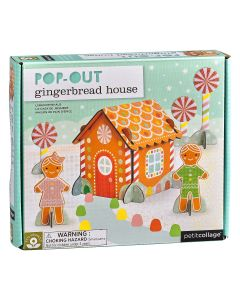 Pop Out Gingerbread House