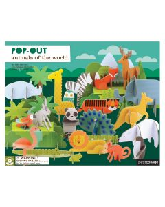 Animals of The World - Pop Out & Play