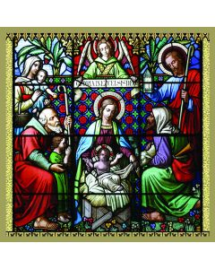 Holy Window - QEF Charity Christmas Cards