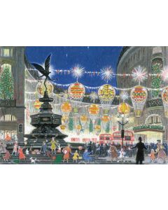 Regent Street Lights  - Cards For Good Causes Charity Christmas Cards