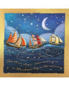 Three Ships - RNLI Charity Christmas Cards