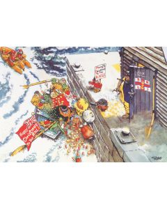 Giles Cartoon Two Pack - RNLI Charity Christmas Cards
