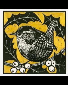 Wren  - Suffolk Wildlife Trust Charity Christmas Cards