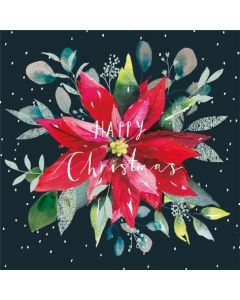 Poinsettia - Shelter Charity Christmas Cards