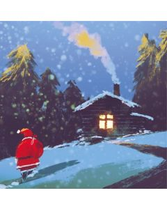 Returning Home - Shelter Charity Christmas Cards