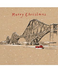 Forth Bridge - Shelter Charity Christmas Cards