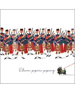 Eleven Pipers