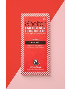 Shelter Organic Rich Milk Chocolate Bar