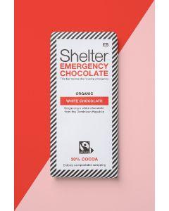 Shelter Organic White Chocolate Bar