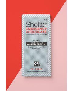 Shelter Vegan Cornish Sea Salt Dark Chocolate