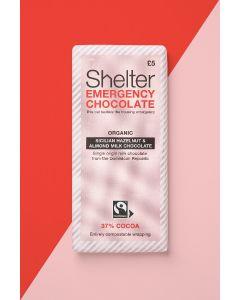 Shelter Organic Sicilian Hazelnut and Almond Milk Chocolate