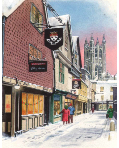 Shopping In Canterbury - Charity Christmas Cards