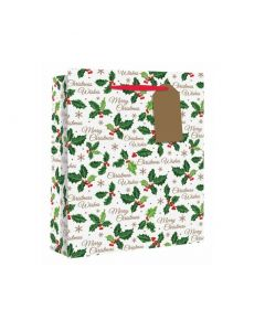 Holly Perfume Gift Bag - Charity Christmas Gifts & Decorations