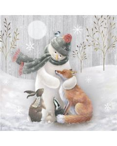 Snowman Hugs - The Children's Society Charity Christmas Cards