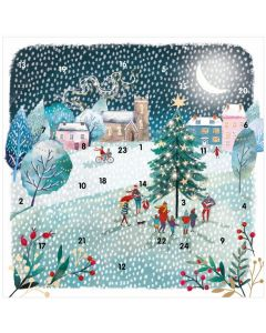 Winter Walks Advent Card