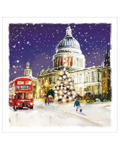 St Paul's in the Snow - Cards For Good Causes Charity Christmas Cards