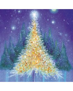 Golden Glow - Stroke Association Charity Christmas Cards