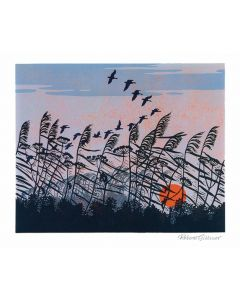 Sunset Flight Everyday Single Card