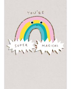 You're Super Magical - Googly Eye Single Card