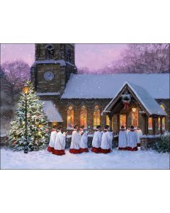 Midnight Mass Twinpack - The Children's Society Charity Christmas Cards