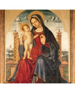 Madonna Enthroned and Child