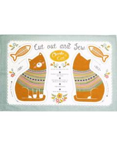 Cotton Tea Towel - Charlie Cat