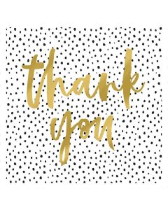 Thank You Polka Dots - Thank You Single Card