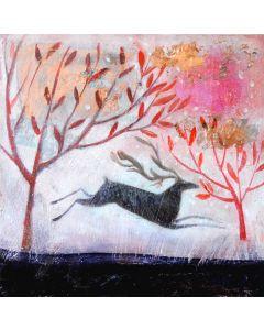 Cranberry Dawn - Suffolk Wildlife Trust Charity Christmas Cards