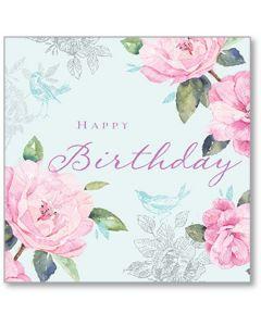 Timeless Birthday Single Card