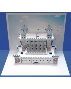 Tower of London Pop Out Single Card