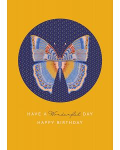 Butterfly Birthday Single Card