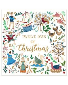 Twelve Days of Christmas - Cards For Good Causes Charity Christmas Cards