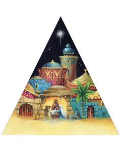 Nativity Pyramid -  Versus Arthritis Charity Christmas Cards