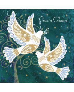 Peace Doves - Versus Arthritis Charity Christmas Cards