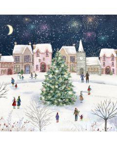 Snowy Village - Versus Arthritis Charity Christmas Cards