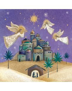 Angels Over Bethlehem - Versus Arthritis Charity Christmas Cards