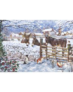 Winter on the Farm  (Bilingual) - Diabetes UK Charity Christmas Cards