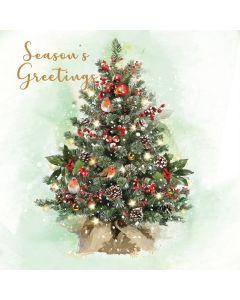 Christmas Tree & Wreath (Bi-lingual) - Twin Pack
