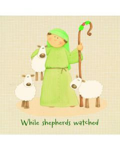 While Shepherds Watch - National Autistic Society Charity Christmas Cards