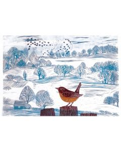 Winter Murmuration  - Cards For Good Causes Charity Christmas Cards