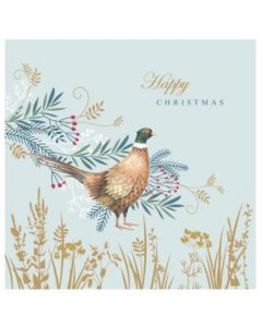 Winter Pheasant - Cancer Research UK Charity Christmas Cards
