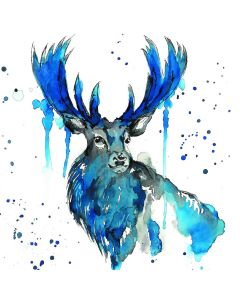 Stag -  World Wildlife Fund (WWF) Charity Christmas Cards